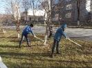 26 октября, в пятницу 92 ученика из 9-11 классов приняли участие в традиционном  Всекузбасском субботнике «Кузбасс в порядке»_5