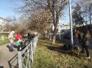 26 октября, в пятницу 92 ученика из 9-11 классов приняли участие в традиционном  Всекузбасском субботнике «Кузбасс в порядке»_6